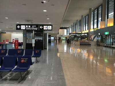 成田空港第1ターミナル1F到着ロビー