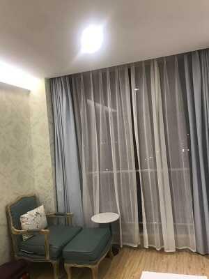 ホテルのリビングスペース